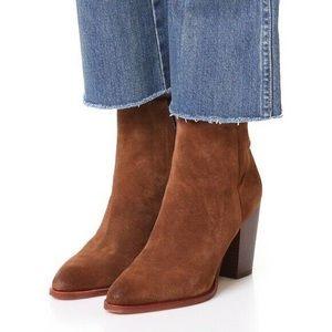 • Sam Edelman • Blaze Suede Ankle Booties